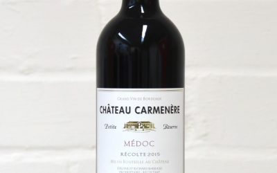 Château Carmenere Petite Res. 2015 Medoc Red 75cl
