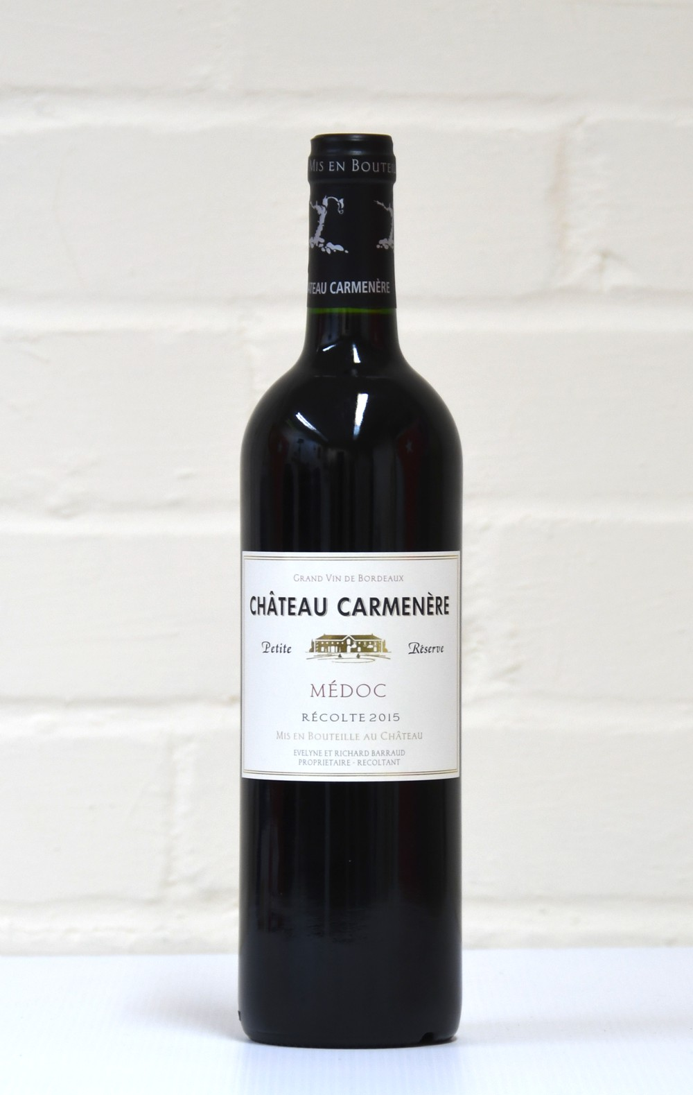 Fruity wine Carmenere