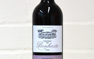 Château De Bonhoste 2016 Bordeaux Superieur Red 75cl