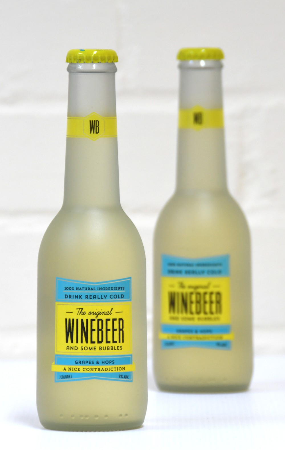 Find a new taste and alcohol experience with WINEBEER, the hoppy wine perfect for sharing with friends